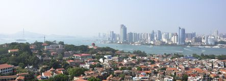 Xiamen landscape Stock Photo