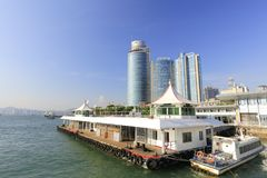 The xiamen lundu ferry terminal, adobe rgb Royalty Free Stock Photo