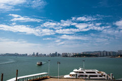 Xiamen miasto Zdjęcia Royalty Free