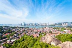 Xiamen panoramiczna sceneria Zdjęcia Royalty Free