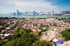 Xiamen scenery. Eastphoto, tukuchina, Xiamen scenery, City, scenery Royalty Free Stock Photo
