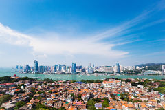 Xiamen scenery. Eastphoto, tukuchina, Xiamen scenery, City, scenery Royalty Free Stock Photos