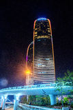 Xiamen twins tower. The most famous Chinese travel city Xiamen·s landmark Royalty Free Stock Photography