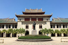 Xiamen-Universitätsgelände in Südost-China lizenzfreie stockfotos