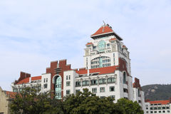 Xiamen university. Office building of xiamen university,amoy city,china Stock Photo