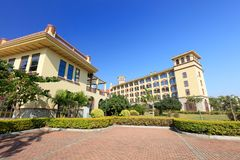 Xiamen Victoria Hotel, Srgb Image Stock Photos