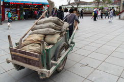 Xiamen Worker Stock Photo