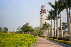 Xiamen wutong lighthouse Royalty Free Stock Image