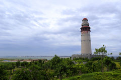 Xiamen wuyuan bay lighthouse Royalty Free Stock Images