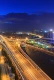 Xiamen Xinglin Bridge At Night, China Stock Photo