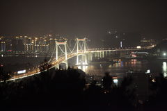 Xiamen Zhangzhou bridge Royalty Free Stock Image