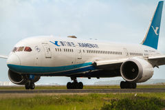 Xiamenlucht Boeing 787 Dreamliner-vliegtuigen Stock Fotografie