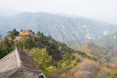 XIAN, ΚΊΝΑ - 11 ΝΟΕΜΒΡΊΟΥ 2014: Ο νότος τοποθετεί Wutai (Nanwutai) ένας διάσημος Στοκ Εικόνα