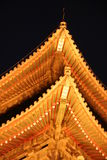 Xian. Old drum tower in the ancient Chinese city of Xian Royalty Free Stock Photo