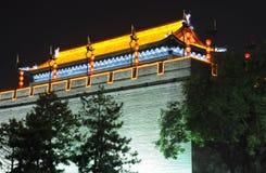 Xian Archery Tower China Stock Foto's