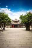 Xian beilin museum Stock Photography