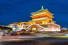 Xian bell tower Stock Photos