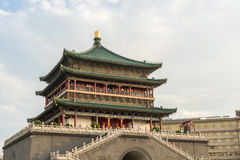 Xian bell tower Royalty Free Stock Image