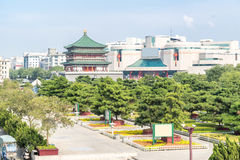 Xian bell tower Royalty Free Stock Photo