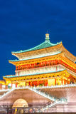 Xian bell tower Stock Photography