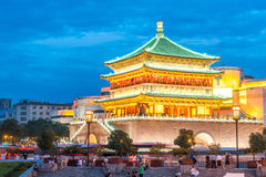 Xian bell tower Royalty Free Stock Images