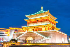 Xian bell tower Royalty Free Stock Photography