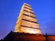Xian Big Wild Goose Pagoda Stock Photos