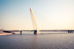 Xian cable stayed bridge Stock Photography