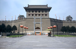 Xian,China. Citywall in Xian in Shaanxi Province,China Stock Photography