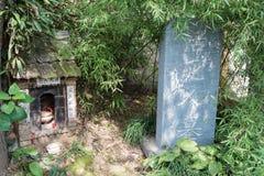 XIAN, CHINA - 26 DE OUTUBRO DE 2014: Túmulo da vida inoperante no Chengd Foto de Stock Royalty Free