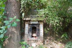XIAN, CHINA - 26 DE OUTUBRO DE 2014: Túmulo da vida inoperante no Chengd Fotografia de Stock