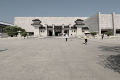 Xian China-The gate of exhibition hall Stock Photos