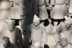 XIAN, CHINA - JUNI 13: Het Terracottaleger of Stock Foto