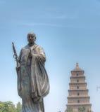 XIAN, CHINA - 23. Juni 2014: Riesige wilde Gans-Pagode Dieses ist Worl Lizenzfreies Stockfoto