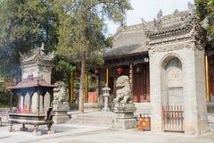 XIAN, CHINA - NOV 2 2014: Xingjiao Temple(UNESCO World heritage Royalty Free Stock Photos
