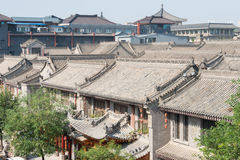XIAN, CHINA - OCT 23 2014: Ancient City of Xi'an. a famous Histo. Ric Sites in Xian, Shaanxi, China Stock Images