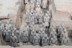 Xian China Terra Cotta Warriors Arkivbilder