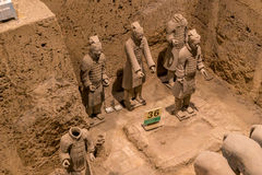 Xian China Terra Cotta Warriors Royalty Free Stock Photo