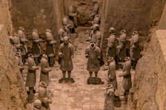 Xian China Terra Cotta Warriors Royalty Free Stock Images