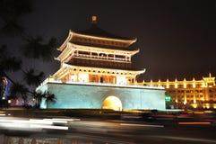 Xian China tower Stock Photography