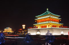 Xian China tower Royalty Free Stock Image