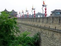 The Xi'an Circumvallation Exterior wall Royalty Free Stock Photos