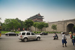 Xian City Royalty Free Stock Photo