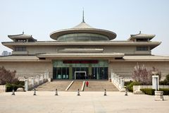 Xian city musuem Royalty Free Stock Photo