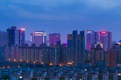 Xian city night Stock Photography