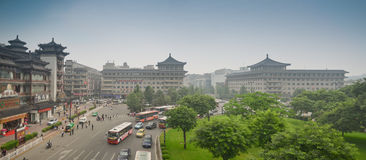 Xian City Royalty Free Stock Photography
