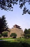 Xian city wall Royalty Free Stock Photography
