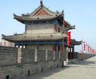 Xian City Wall Stock Image