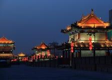 Xian city wall Stock Photos