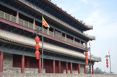 Xian City Wall Watchtower Royalty Free Stock Images